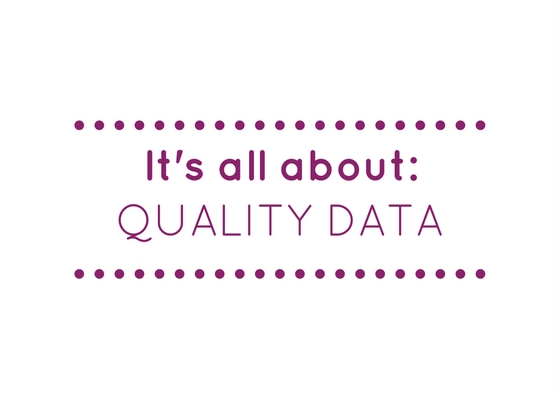 Data quality directly impacts profitability