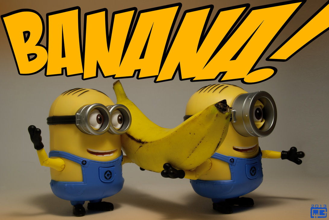 Is it a bird? Is it a plane?… no! It's bananaphone!