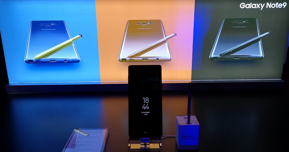 The game-changing and all-powerful Galaxy Note9 unveiled