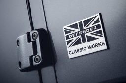 The new Defender – taking to the road