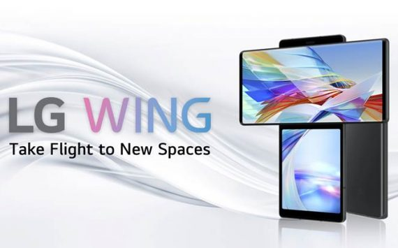 LG WING set to redefine the smartphone